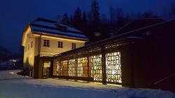 ② Stille Nacht Museum bei Nacht
