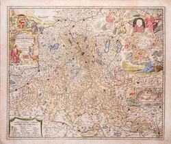 ① Landkarte Fürst- und Erzbistum Salzburg