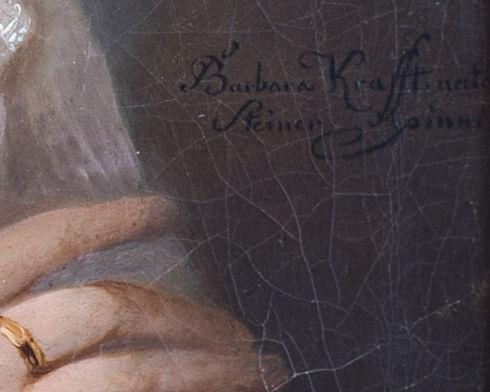Porträt Antonie Edle v. Koch-Sternfeld (
