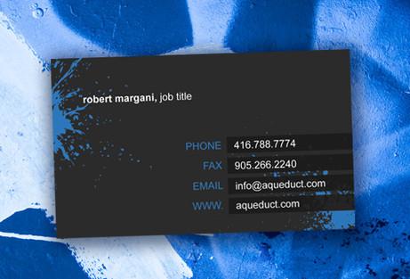 Paint Business Card Design