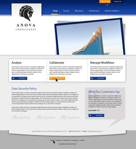 Finance Investments Website Design