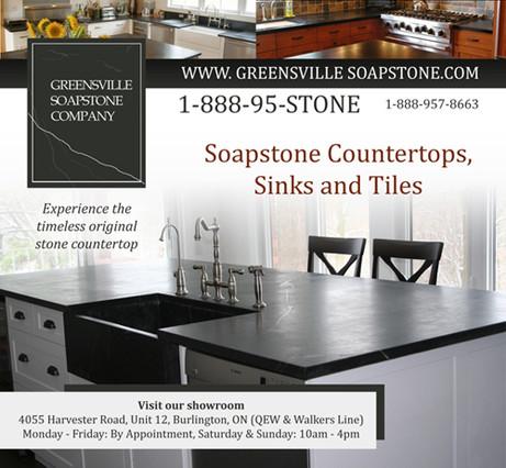 Soapstone Ad Design