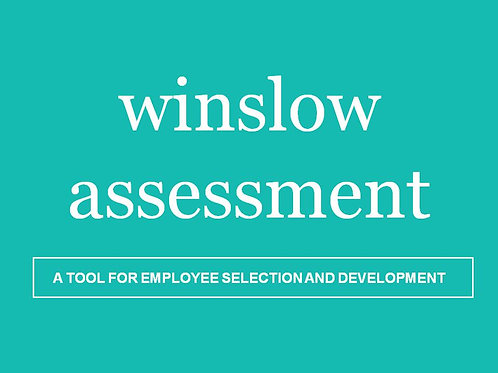 Winslow Personality Assessment