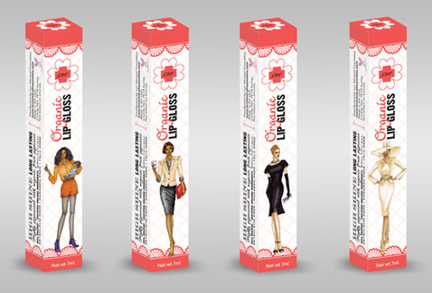 Lip Gloss Box Design