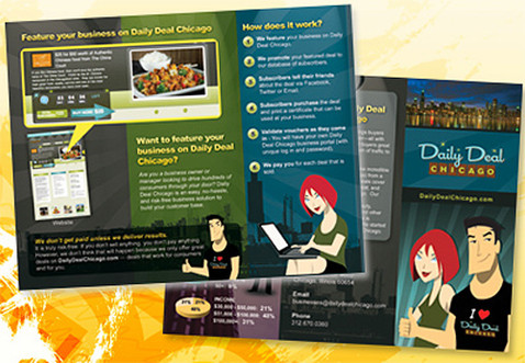 Daily Deal Brochure Design
