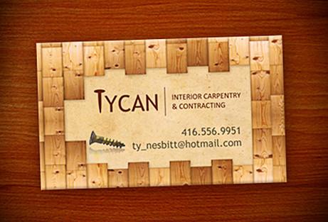 Carpenter Business Card Design