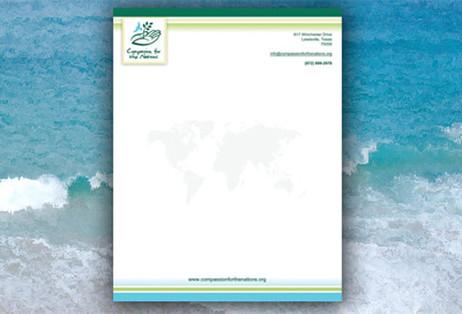 Charity Letterhead Design