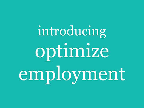 Introducing Optimize Employment