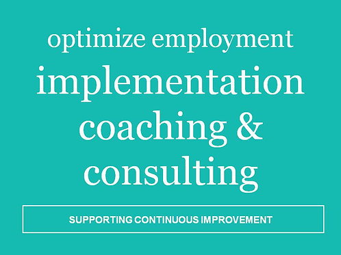 Implementation Coaching & Consulting