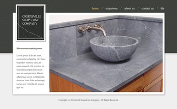 Decor Website Design