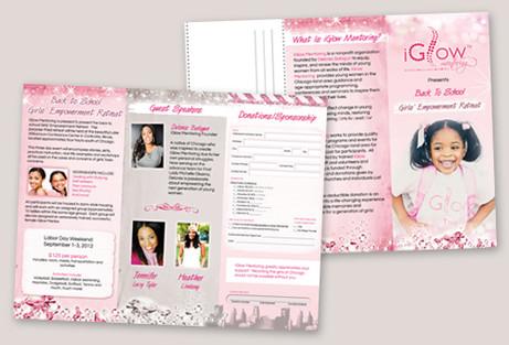 Girls Mentoring Brochure Design