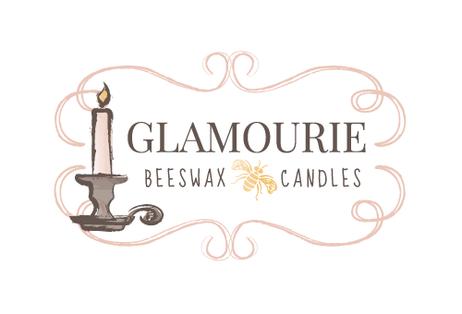 Beeswax Candles Logo Design
