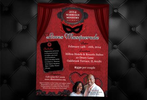 Valentine Event Flyer Design