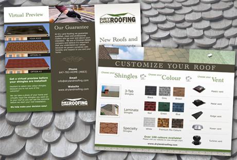 Roofing Brochure Design