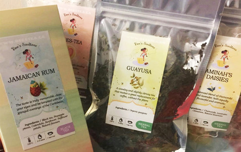 Loose Leaf Tea Label Design
