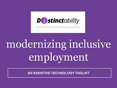 Modernizing Inclusive Employment