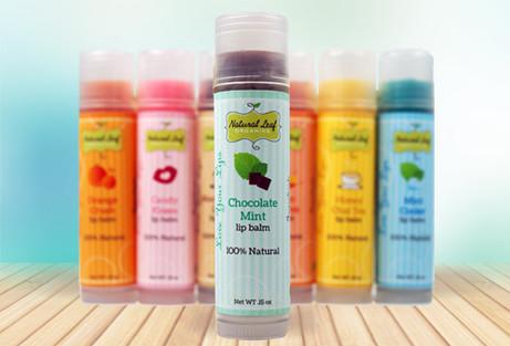 Lip Balm Label Design