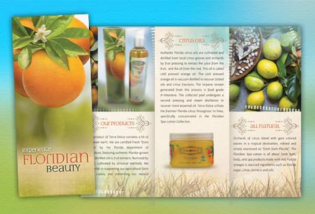 Florida Products Brochure Design