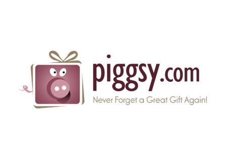 Pig Gift Logo Design
