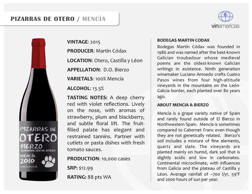 PIZARRAS DE OTERO | MENCIA