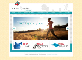 Bootcamp Fitness Website Design