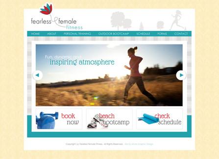 Bootcamp Fitness Website Design