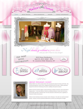 Fashion Boutique Website Design