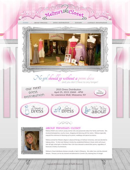 Fashion Boutique Website Design