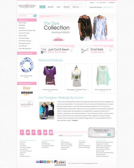 Fashion Online Store Website Design