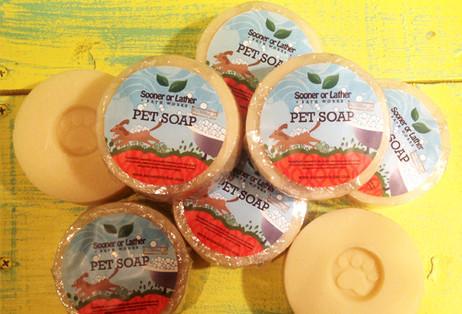 Pet Soap Label Design