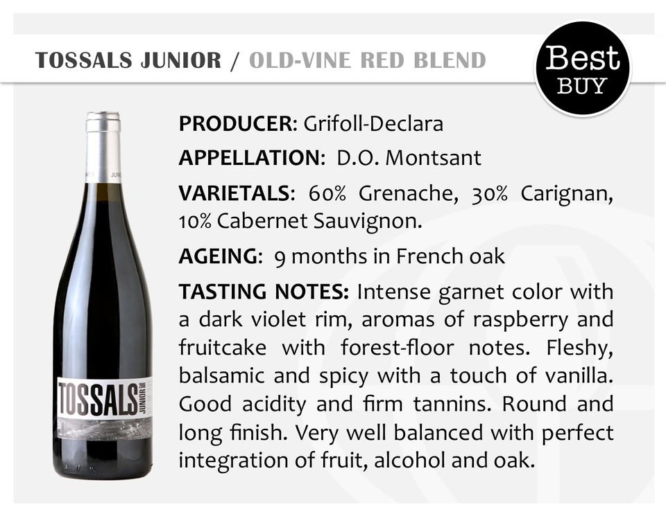 TOSSALS JUNIOR | OLD-VINE RED BLEND