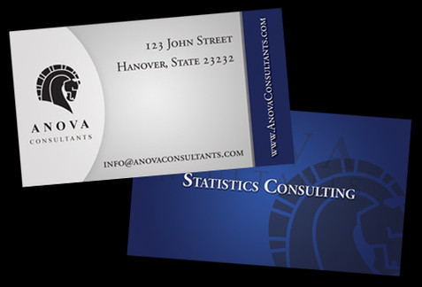 Financial Investments Business Card Design