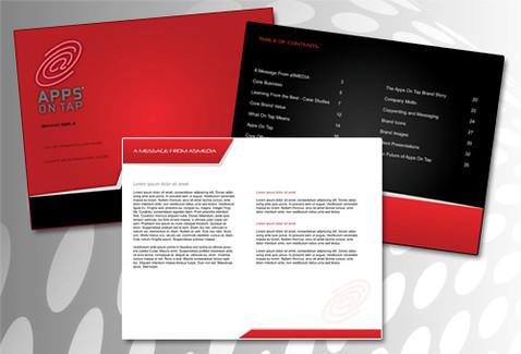 Computer Company Brand Book Design