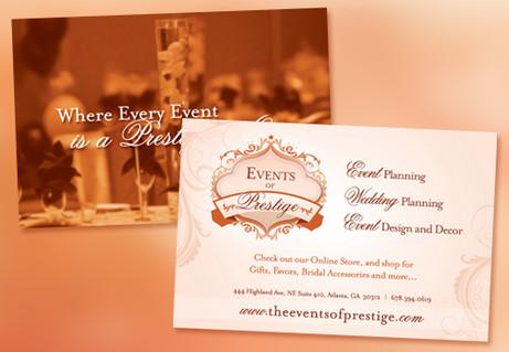 Event Planners Postcard Design