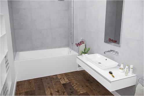 Mirolin Austin BO60L Soaker Tub