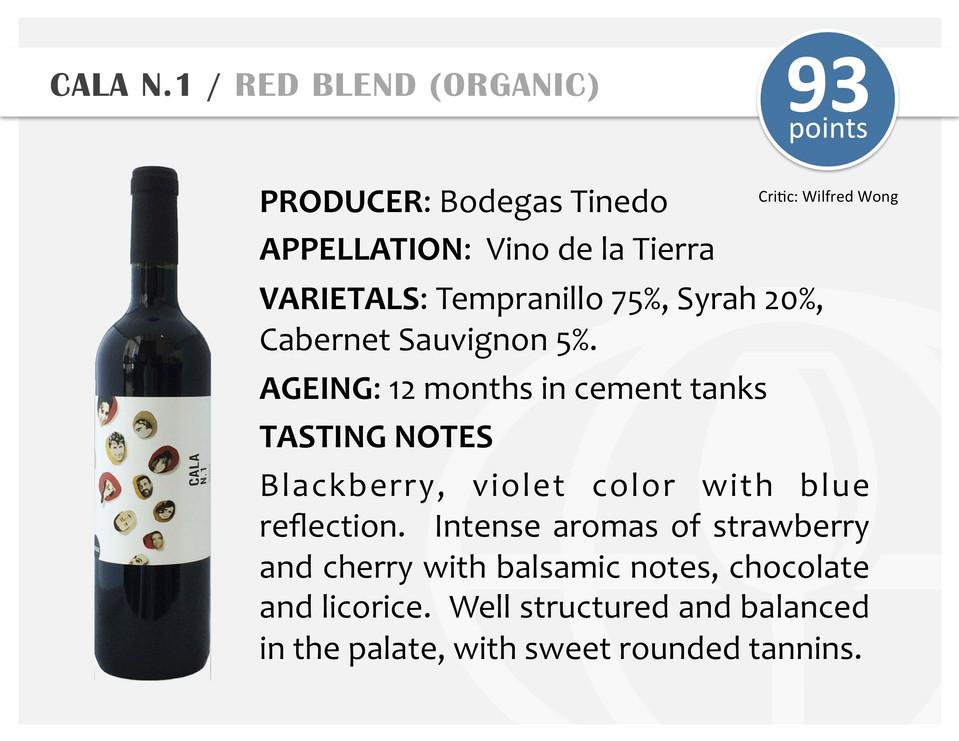 CALA N.1 | RED BLEND (ORGANIC)