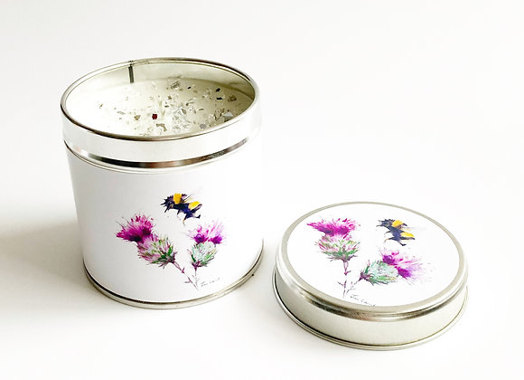 Busy Bee Sparkle Candle