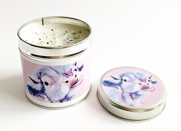 Fluttering By Sparkle Candle