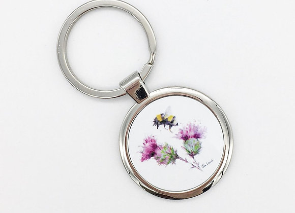 Busy Bee Keyring