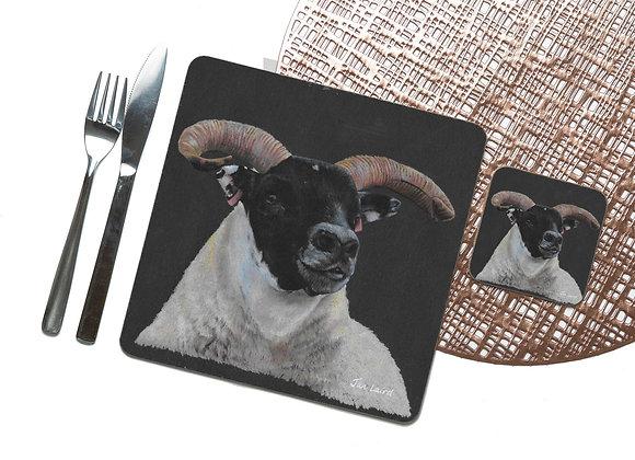 Blackface Coaster / Placemat