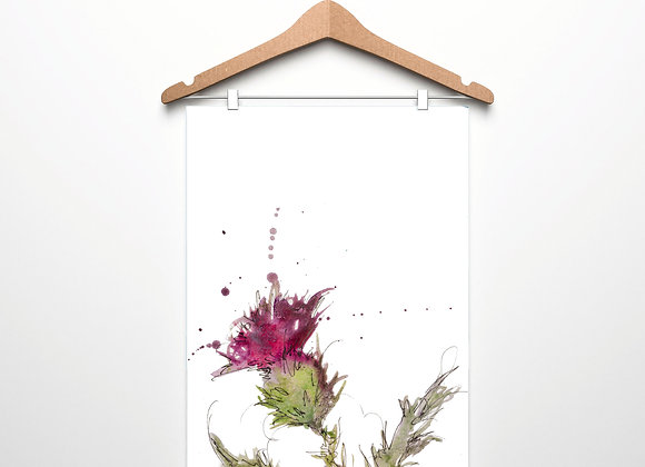 Thistle Only Teatowel
