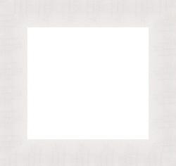 wide white frame