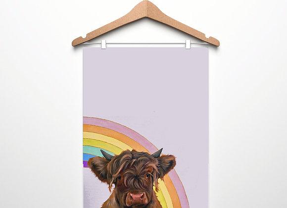 Rainbow Teatowel