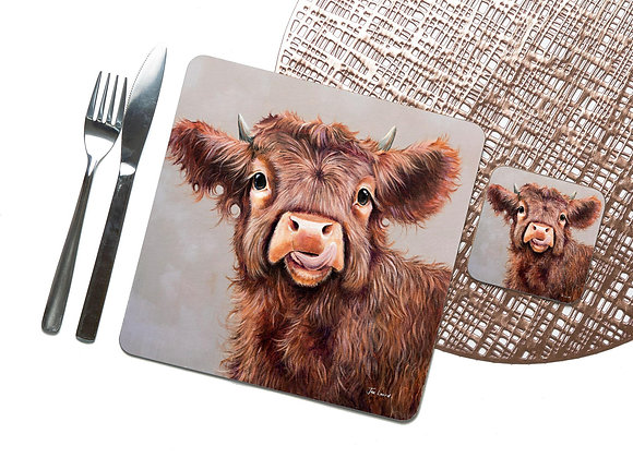 Wee Tablet Coaster / Placemat