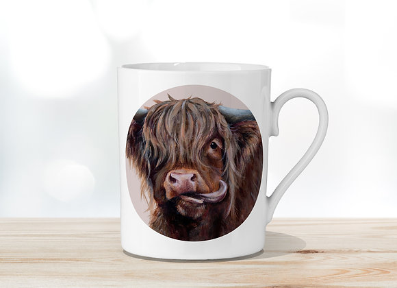 Molly Moo Fine Bone China Mug