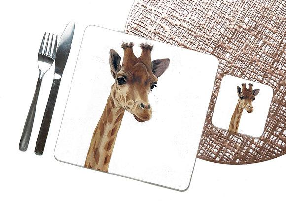 Giraffe Coaster / Placemat