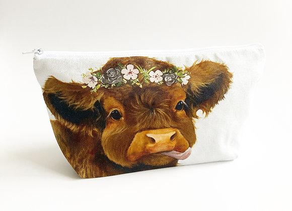 Flora Cosmetic Bag