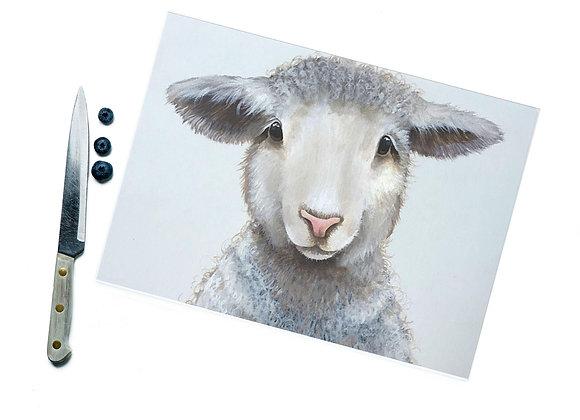 Wool I am Glass Cutting Board