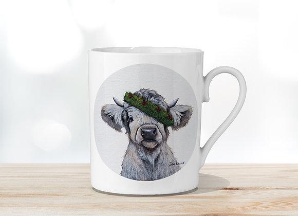 Festive Fine Bone China Mug