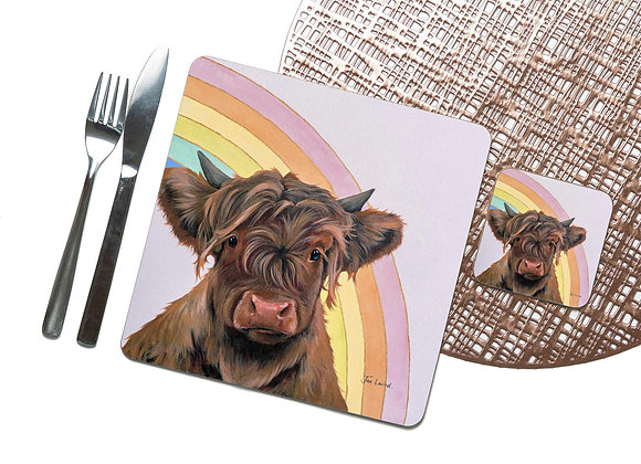 Rainbow Coaster / Placemat